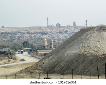 Near Jericho, Israel,  area of the Baptismal Site of Jesus Christ on the Jordan River - Qasr el Yahud in Israel