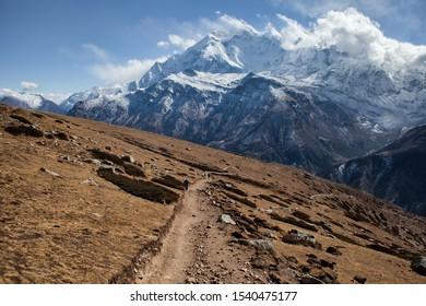 Near Manang on the Annapurna Circuit, Nepal