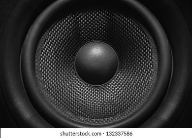 Nearfield speaker monitor cone