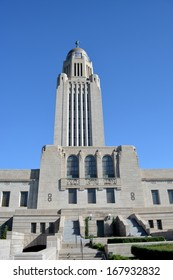 Nebraska State Capitol Building in Lincoln, NE.