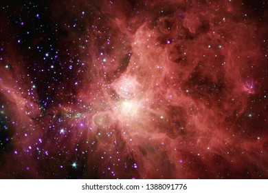 Nebula in beautiful endless universe. Awesome for wallpaper and print. Elements of this image