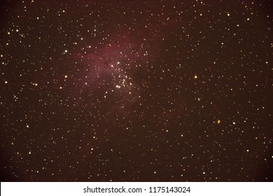 Nebula of the Eagle, M16. Nebula of emission located in the Constellation of Serpens.
