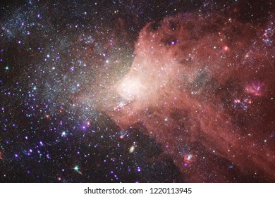 Nebula. Outer space image that is suitable for wallpaper. Elements of this image furnished by NASA.