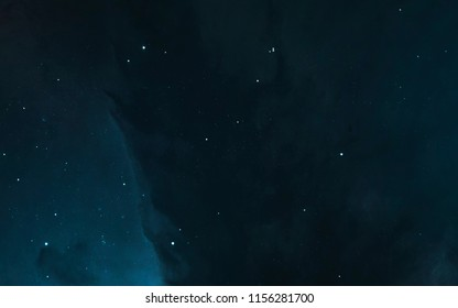Nebula, starfield, cluster of stars in deep space. Science fiction art. Elements of this image furnished by NASA
