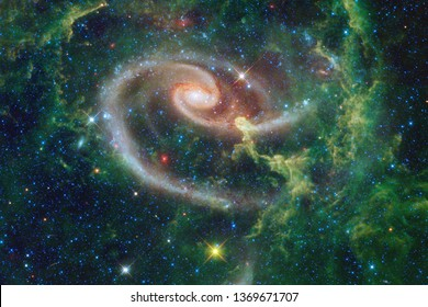 Nebulae an interstellar cloud of star dust. Elements of this image furnished by NASA