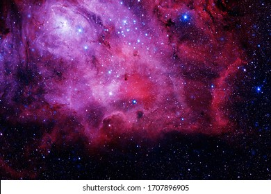 Nebulas, galaxies and stars in beautiful composition. Awesome print for wallpaper. Elements of this image furnished by NASA.