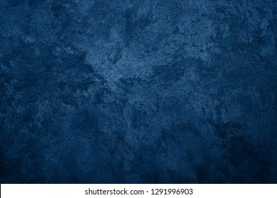 Nebules blue texture decorative Venetian stucco for backgrounds - Shutterstock ID 1291996903