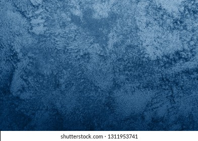Nebules blue texture decorative Venetian stucco for backgrounds
