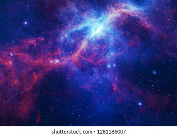 Nebulous Nebula - Elements of this Image Furnished by NASA