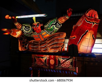 Nebuta summer festival in japan which is Japanese's Art Style and very famous
