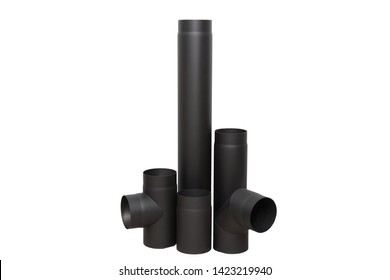 Necessary element of pipe for home fireplace