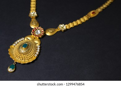 Neck less  Indian Gold jewelry