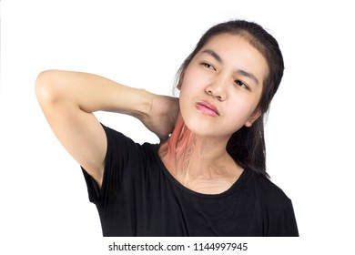 Neck muscle pain