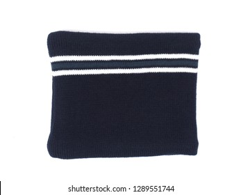Neck warmer shot with white back