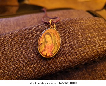 necklace of the virgin of guadalupe