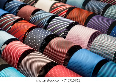 neckties group and lot of colorful for sale
