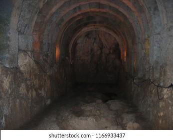 Necromanteion of Acheron Preveza Greece Underground tunnel