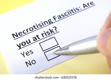 Necrotising fascilitis : are you at risk? yes or no