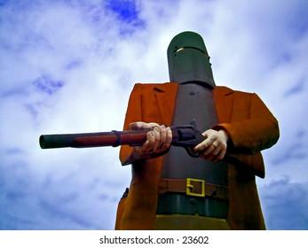 Ned Kelly statue, Australian Bush ranger