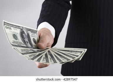 need money : dollar