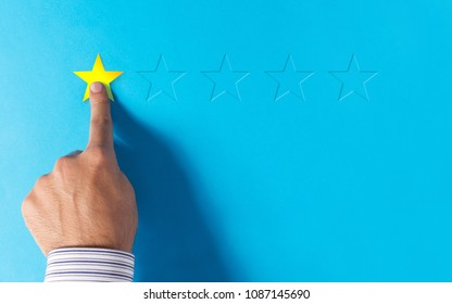 Negative feedback - hand choosing 1 star rating