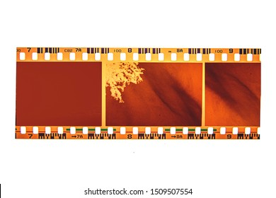 Negative film of(35 mm.) film frame.With copy space.film camera.