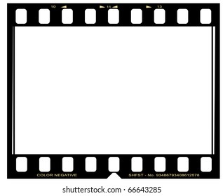 negative picture film frame