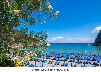 Negombo Beach, Ischia, Phlegrean Islands, Tyrrhenian Sea, Italy, South Europe