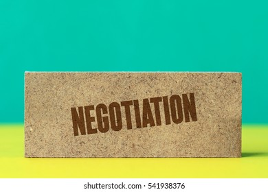 Negotiation, Business Concept