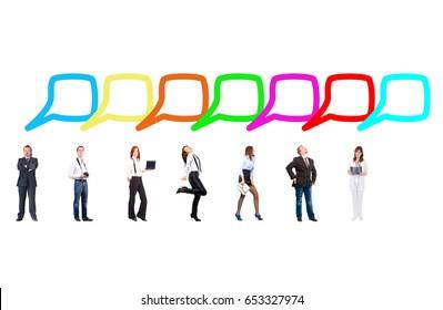Negotiations Idea Conversations in a Company