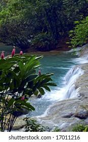 Negril, Jamaica, cascade falls