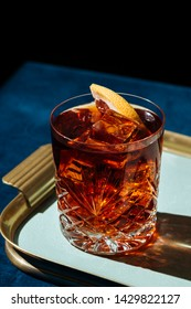 Negroni, an italian cocktail, an apéritif, first mixed in Firenze, Italy, in 1919. Count Camillo Negroni asked to strengthen his Americano by adding gin rather than normal soda water.