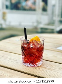 Negroni at The Ship in London