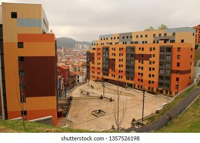 Neighborhood in Bilbao