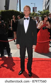 Neil Patrick Harris at the 2010 Creative Arts Emmy Awards at the Nokia Theatre L.A. Live. August 21, 2010  Los Angeles, CA Picture: Paul Smith / Featureflash