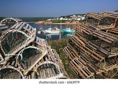 Neil's Harbour. Cape Breton Island. Nova Scotia. Canada.