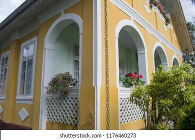 Neitzel house. Typical German house in Joinville, Santa Catarina, Brazil.