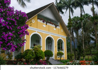 Neitzel house. Typical German house in Joinville, Santa Catarina, Brazil.