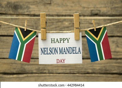 Nelson Mandela greeting card.