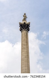 Nelson's Column is a monument in Trafalgar Square in central London built to commemorate Admiral Horatio Nelson, who died at the Battle of Trafalgar in 1805.