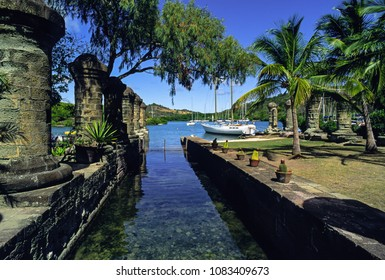 Nelsons Dockyard in English Harbour on Antigua