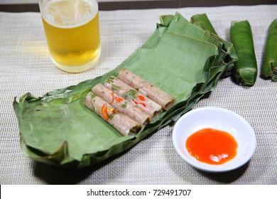 Nem chua , Vietnamese sausage