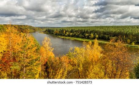 Nemunas River  near Birstonas