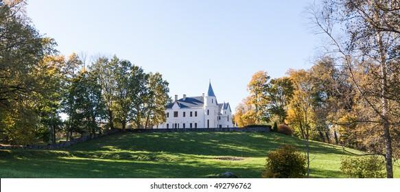 Neo gothic castle in Estonia (Alatskivi)
