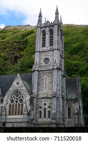 Neo-gothic church, Kylemore, Ireland