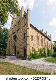 Neo-gothic protestant Peter-Pauls-Kirche church at the town of Zingst, Mecklenburg Western-Pomerania, Germany - Shutterstock ID 2025780941