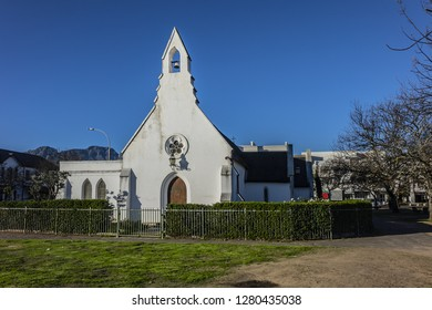 The neo-Gothic Stellenbosch St Mary on the Braak Church, completed in 1852, sits at the north end of the Braak. Stellenbosch - town in Western Cape province of South Africa, 50 km east of Cape Town.