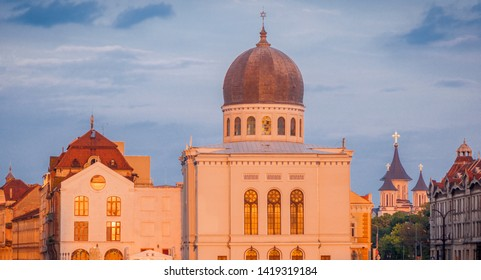 Neolog Synagogue Sion in Oradea. Oradea, Bihor County, Romania.