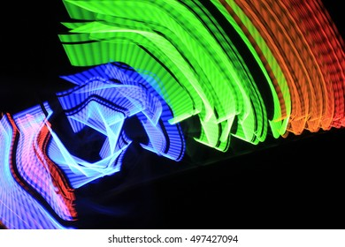 neon abstract colors