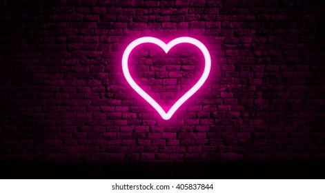 neon heart sign images stock photos vectors shutterstock